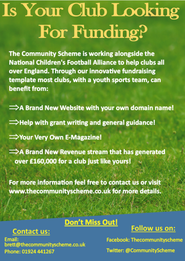 Community Scheme Funding